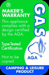 certified gas appliance