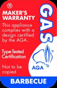certified gas bbq